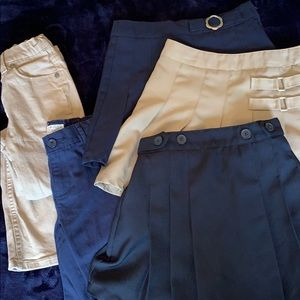Other - School Uniform bottoms pants shorts skirts Size 7